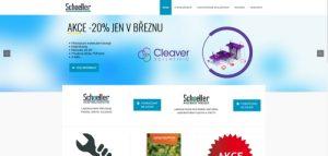 Nový design webu Schoeller